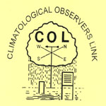 The Climatological Observers Link logo.