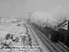 Train in the snow in 1962. Courtesy of the webmaster's collection DERBYZULZERS.